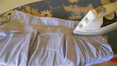 Hemden bügeln Anleitung