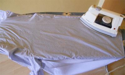 Wie bügelt man ein Hemd? - 4. der Körper